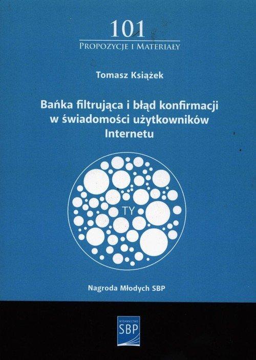 Bańka filtrująca i błąd konfirmacji - okładka książki