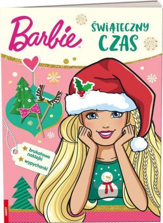 Barbie. Świąteczny czas - okładka książki