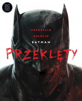 Batman Przeklęty - okładka książki
