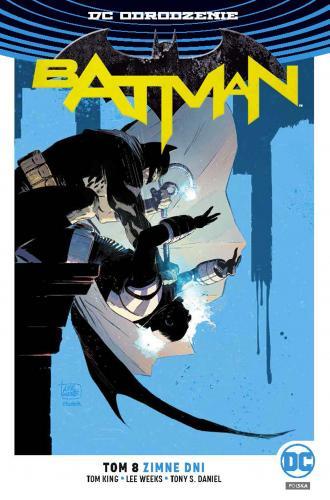 Batman. Tom 8. Zimne dni - okładka książki