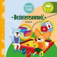 Bezinteresowność Przygody Fenka - okładka książki