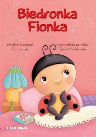 Biedronka Fionka - okładka książki