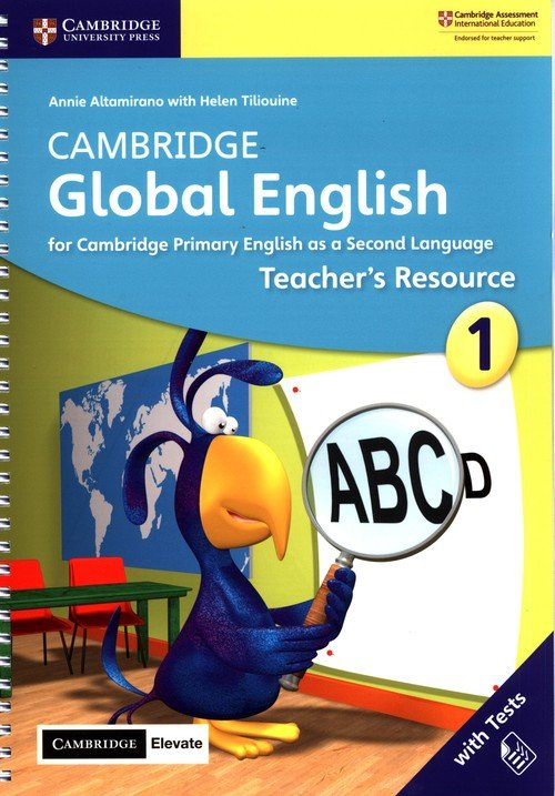Cambridge Global English 1 Teachers - okładka podręcznika