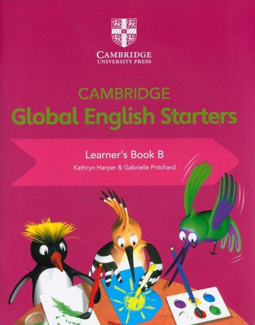 Cambridge Global English Starters - okładka podręcznika