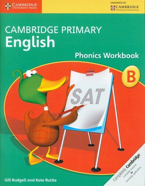 Cambridge Primary English Phonics - okładka podręcznika