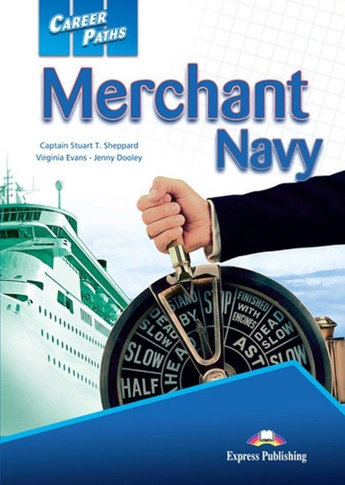 Career Paths Merchant Navy Students - okładka podręcznika