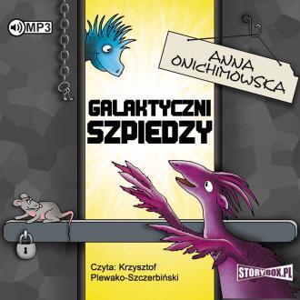 Galaktyczni szpiedzy (CD mp3) - pudełko audiobooku