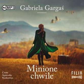 Minione chwile (CD mp3) - pudełko audiobooku