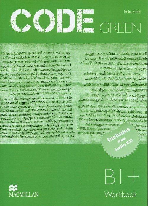 Code Green Workbook (+ CD) - okładka podręcznika