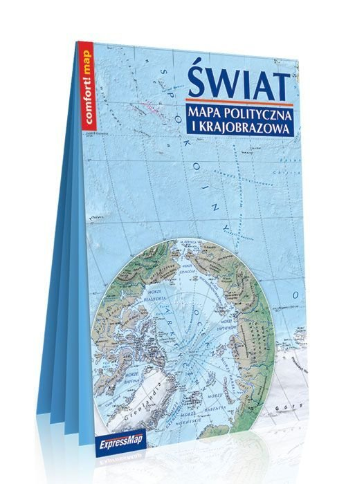 Comfort! map Świat 1:31 000 000 - okładka książki