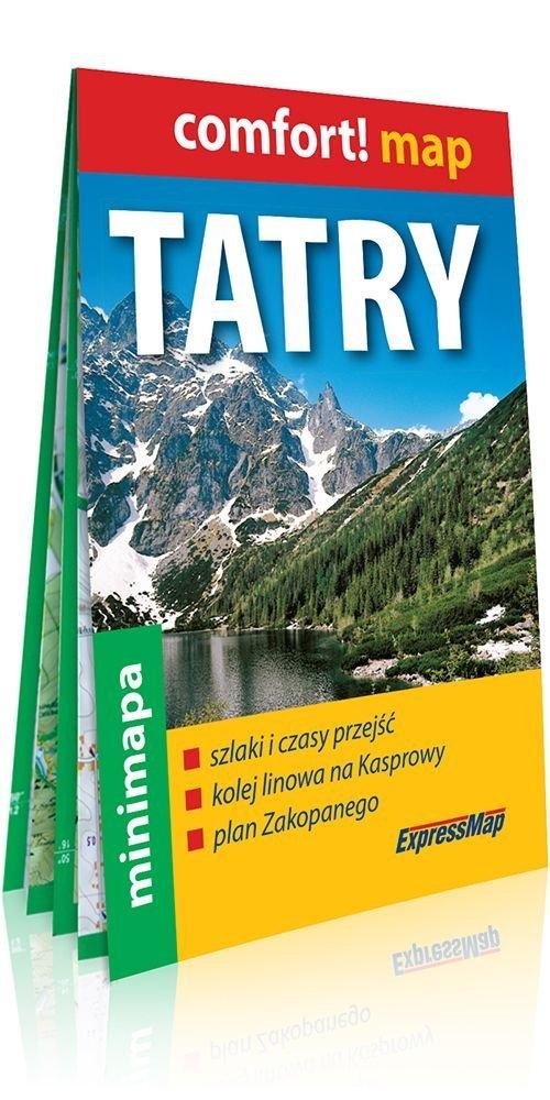 Comfort! map Tatry. Mapa turyst. - okładka książki
