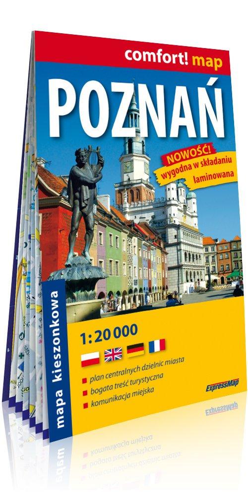 Comfort!map Poznań 1:20 000 plan - okładka książki