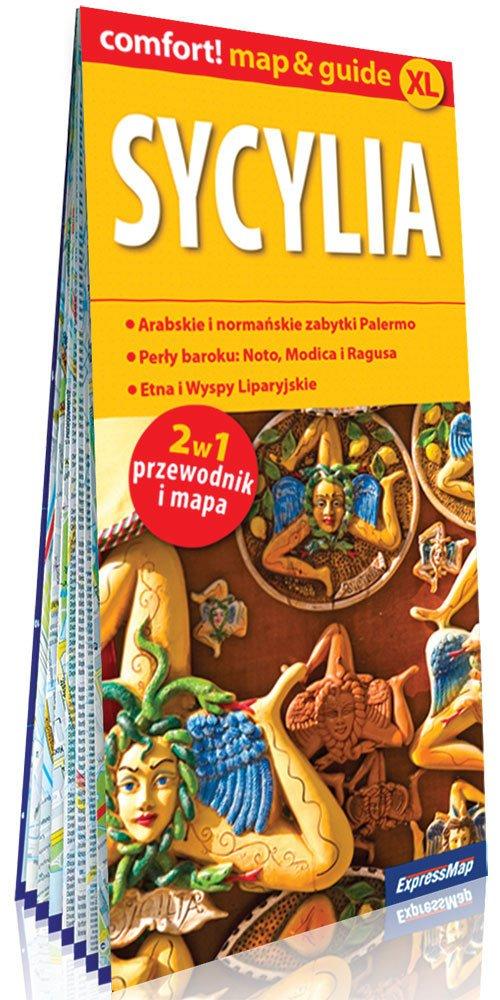 Comfort!map&guide XL Sycylia 2w1 - okładka książki