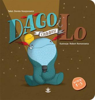 Dago i Lo cz. 3. Ciemność / TASHKA - okładka książki