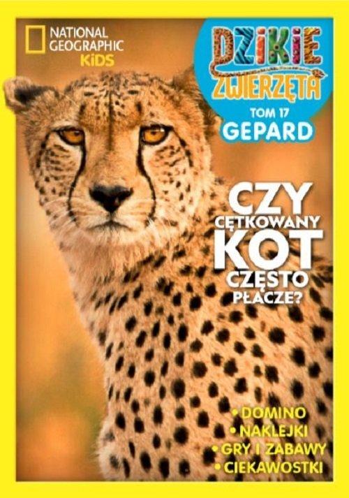 Dzikie Zwierzęta. Tom 17. Gepard - okładka książki
