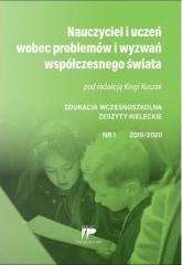 Edukacja wczesnoszkolna nr 1 2019/2020 - okładka książki