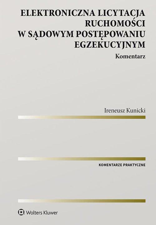 Elektroniczna licytacja ruchomości - okładka książki