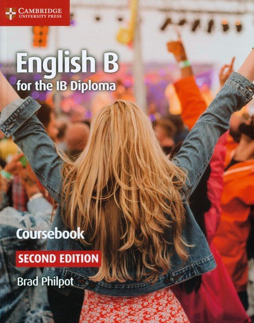 English B for the IB Diploma Coursebook - okładka podręcznika