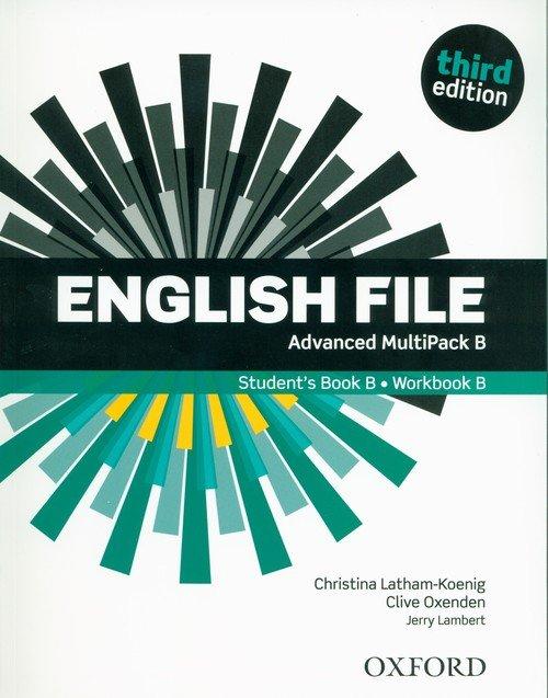 English File 3E Advanced Multipack - okładka podręcznika