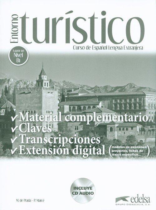 Entorno turístico Material complementario, - okładka podręcznika