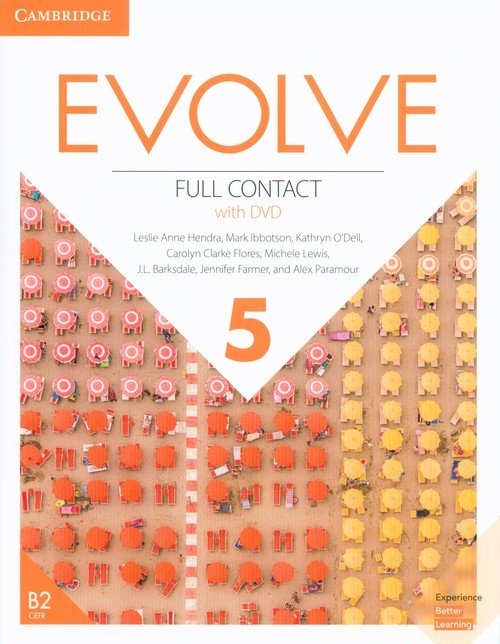 Evolve 5 Full Contact (+ DVD) - okładka podręcznika