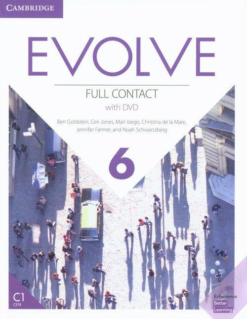 Evolve 6 Full Contact (+ DVD) - okładka podręcznika