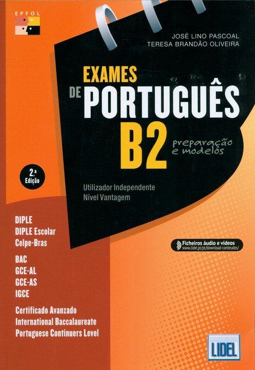 Exames de portugues B2 preparacao - okładka podręcznika