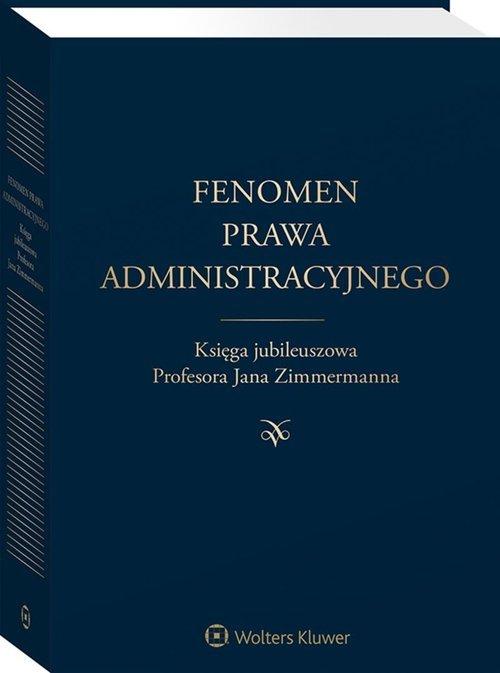 Fenomen prawa administracyjnego - okładka książki