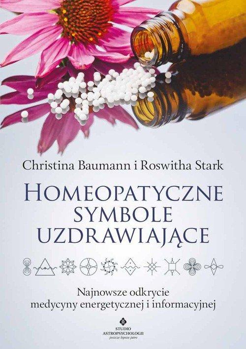 Homeopatyczne symbole uzdrawiające - okładka książki