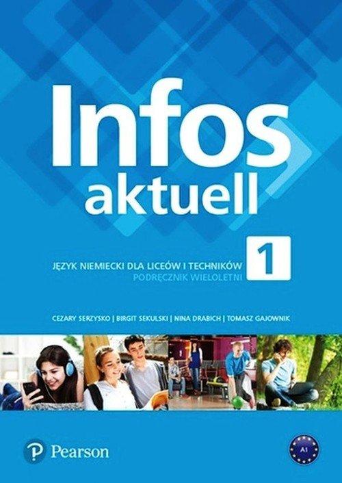Infos aktuell 1. Szkoła ponadpodstawowa. - okładka podręcznika