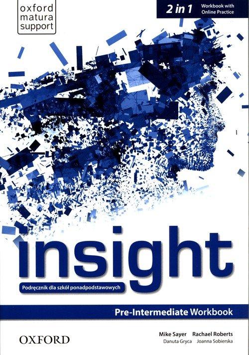 Insight Pre-Intermediate Workbook - okładka podręcznika