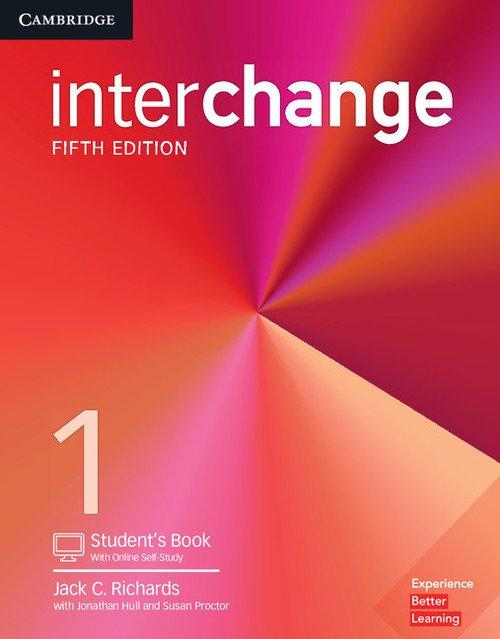 Interchange 1 Students Book with - okładka podręcznika