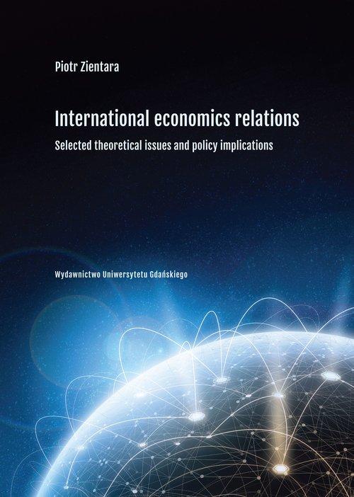 International economics relations. - okładka książki