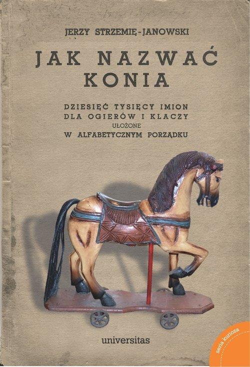 Jak nazwać konia. dziesięć tysięcy - okładka książki
