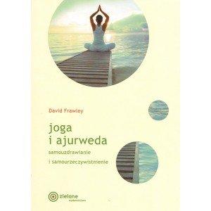 Joga i ajurweda - okładka książki