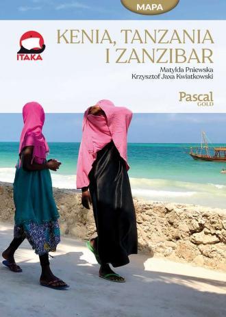 Kenia, Tanzania i Zanzibar - okładka książki