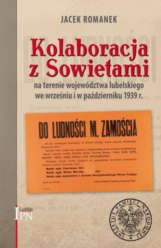 Kolaboracja z Sowietami na terenie - okładka książki