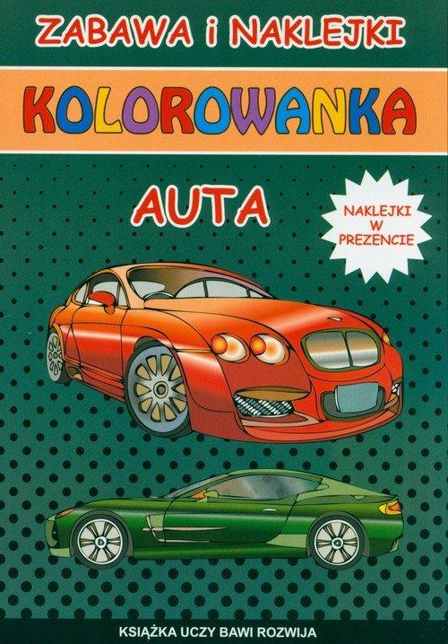 Kolorowanka Auta - okładka książki