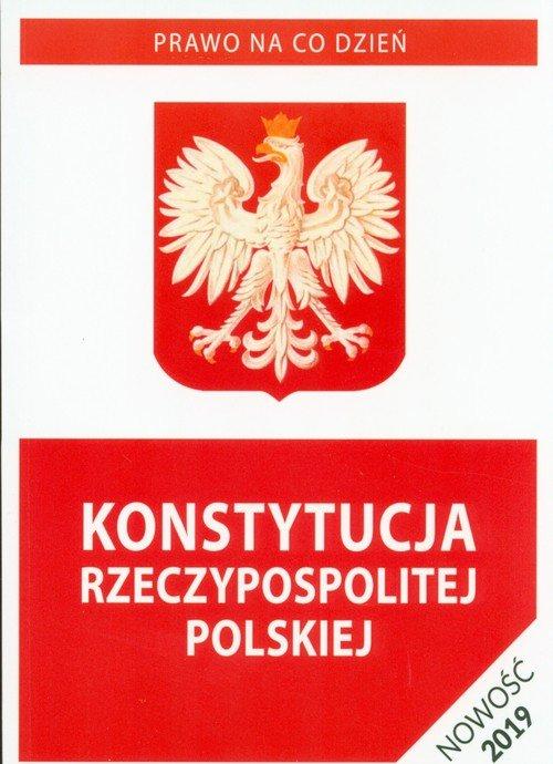 Konstytucja Rzeczypospolitej Polskiej - okładka książki