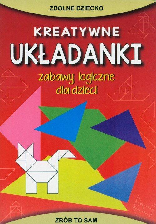 Kreatywne układanki - okładka książki