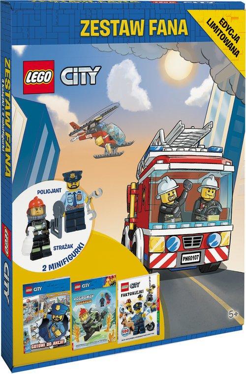 LEGO City. Zestaw fana - okładka książki
