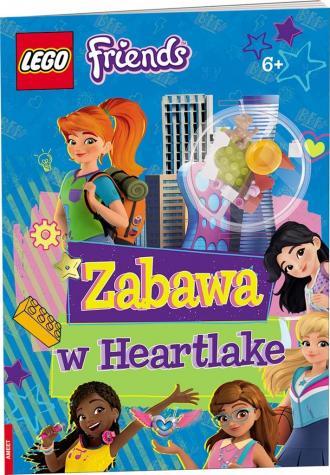 LEGO Friends. Zabawa w Heartlake - okładka książki