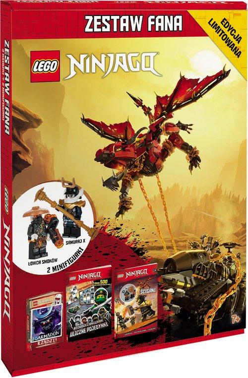 LEGO Ninjago. Zestaw fana - okładka książki