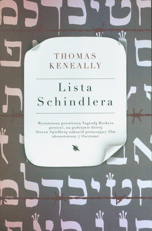 Lista Schindlera - okładka książki