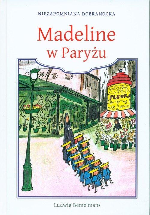 Madeline w Paryżu - okładka książki