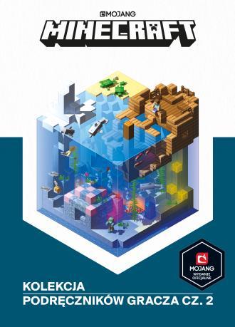 Minecraft. Kolekcja podręczników - okładka książki
