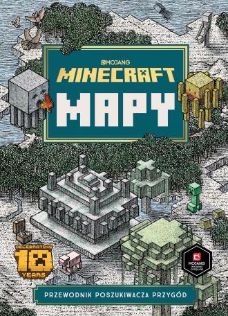 Minecraft Mapy - okładka książki