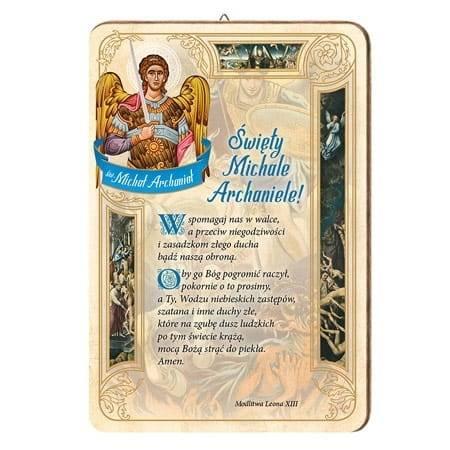 Modlitwa do św. Michała Archanioła. -