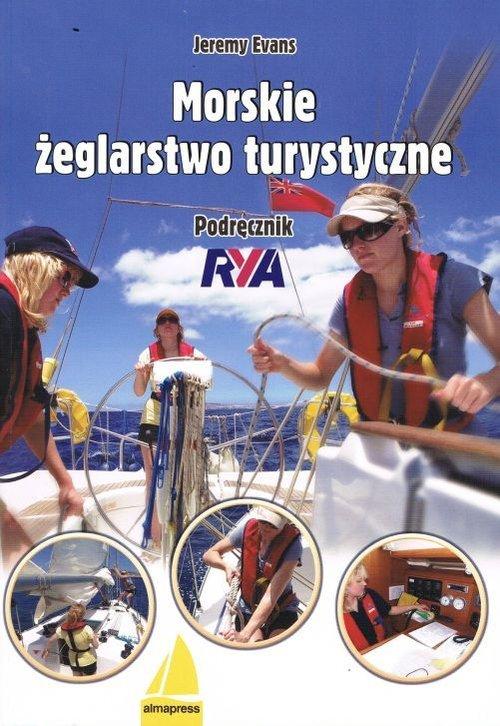 Morskie żeglarstwo turystyczne. - okładka książki