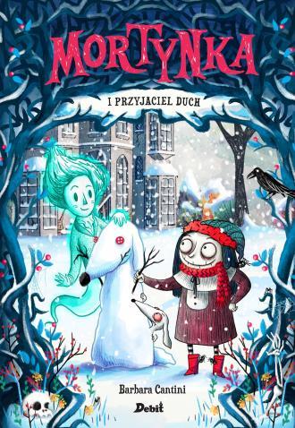 Mortynka i jej przyjaciel duch - okładka książki